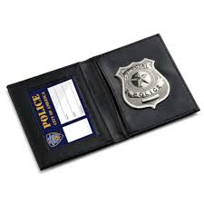 Police Id Wallet Pretend Play