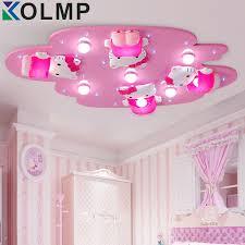 lighting for girls bedroom. hello kitty lovely girls bedroom ceiling lights pink color cute girl room decoration princess led light surface mountin from lighting for