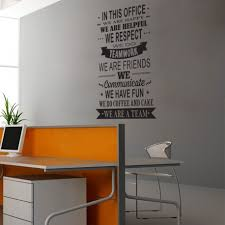 office wall decal. Dream On Walls We Are A Team Office Wall Decal O