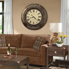 Decorating A Large Wall Large Wall Clock Decor