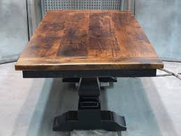 dining room tables pedestal base with classic design vintage old dining table design with rectangular