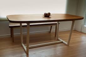mid century modern furniture dining tables. mid-century-modern-dining-table-and-bench mid century modern furniture dining tables n