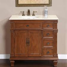 36 vanity cabinet. Modren Cabinet 36inch Marble Top Bathroom Single Vanity Cabinet Off Center Left Sink  0210CM On 36 E