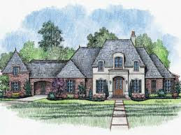 country french house plans with porches
