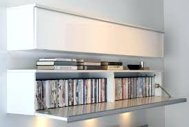 wall mounted cd storage amazing shelves large image for dvd pertaining to 15