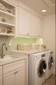 lighting for laundry room. laundry room with gray arabesque tile backsplash transitional pinterest rooms and lighting for