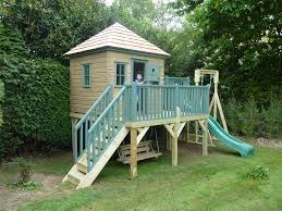 Hanging Tree House Childrens Wooden Playhouse Treehouses The Playhouse Company