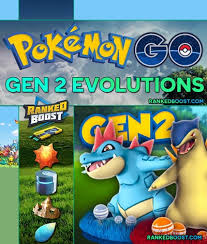 Pokemon Golbat Evolution Chart Pokemon Go Evolutions Gen 2 Second Generation Evolution