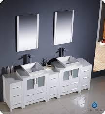 double sink bathroom vanity cabinets white. 84\ double sink bathroom vanity cabinets white