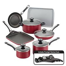 Prestige Kitchen Appliances Farberware High Performance Nonstick 17 Piece Cookware Set