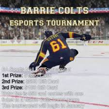 Barrie Colts Official Site Of The Barrie Colts
