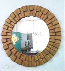 interior wooden frame mirror attractive large wood at 1stdibs regarding 0 from wooden frame mirror