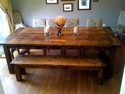make it yourself farm table would love this old world feel in the dining room