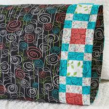 2nd Quarter 2017 One Million Pillowcase Featured Fabrics ... & Quilting Treasures - Pillowcase 64 Plaid Band Adamdwight.com