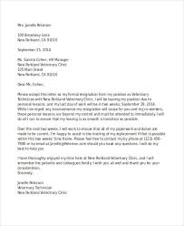 Resignation Letter Samples With Reason Free 49 Resignation Letter Examples In Pdf Doc Examples