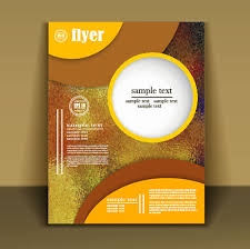 flyer design free vector fashion cover brochure with flyer design vector 06 free download