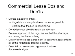 Collection Of Solutions Letter Intent For Com Lease Sample Perfect ...