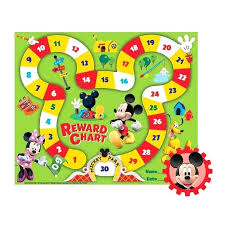 Mickey Mouse Clubhouse Park Mini Reward Chart Plus Stickers Potty