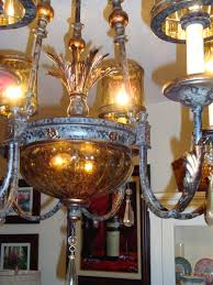 close up photo we purchased the chandelier from philips lighting in modesto ca