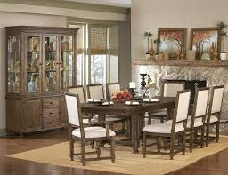 Ardenwood Natural Antique Wood Glass Buffet  Rustic Dining Room