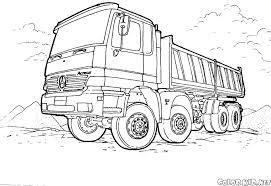 Motrice Camion Tir Da Stampare E Da Colorare Auto Electrical