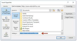 How To Add Hyperlinks To Signature In Emails In Outlook
