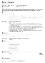 025 Mechanical Site Engineer Resume Sample Template Best