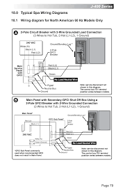 0 typical spa wiring diagrams j 400 series page 79 jacuzzi j 0 typical spa wiring diagrams j 400 series page 79 jacuzzi j 470 user manual page 85 104