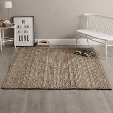 natural jute braided large rug by the white company