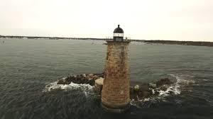 Whaleback Light Kittery Maine Whaleback Light Kittery Maine 4k