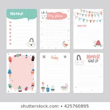 Notes Template Printable Royalty Free Printable Notes Stock Images Photos Vectors