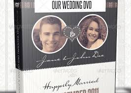 Wedding Dvd Template Vintage Wedding Dvd Covers And Disc Label Template Inspiks Market