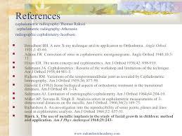 Validity Of Cephalometrics