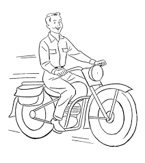 Search through 623,989 free printable colorings at. Motorcycle Coloring Pages Free Printable For Kids