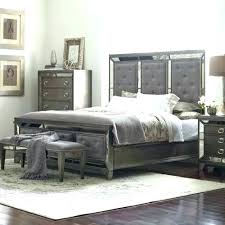 Mirror Bed Set Bedroom Set With Mirror Headboard Mirrored Headboard ...
