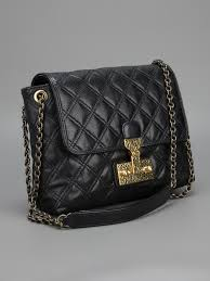 Lyst - Marc jacobs Quilted Shoulder Bag in Black & Gallery Adamdwight.com