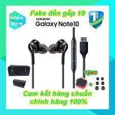 Tai nghe Samsung Note 10 Note 10 Plus AKG chân Type C - Tai nghe AKG - cam  kết zin chính hãng 100%