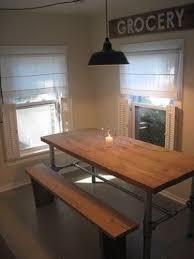 diy reclaimed wood dining table. the perfect diy industrial farmhouse table::via frugal blog diy reclaimed wood dining table