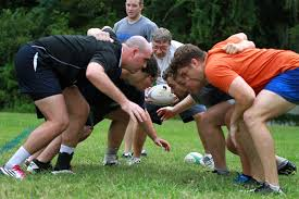 uf rugby club practices at hume field on campus