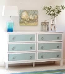 ikea tarva dresser hack. Ikea Tarva Dresser Hack 6-drawer Blue Burlap Panels