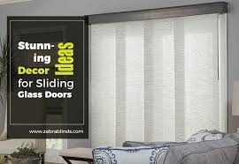 sliding glass door decorating ideas
