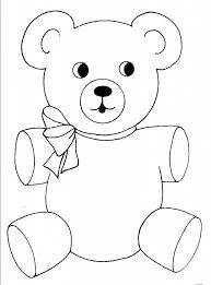 Small Picture Best 25 Teddy bear template ideas on Pinterest Bear template