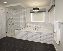 bathroom subway tile. Subway Tile Bathroom Black Grout Pinterest