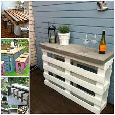 outdoor furniture made from pallets. Unique From View In Gallery Pallet Bar Table And Outdoor Furniture Made From Pallets  Chair Wonderful Amazing With Outdoor Furniture Made From Pallets R