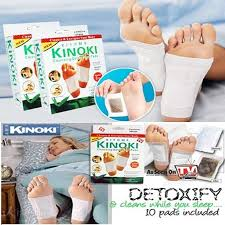 kinoki detox foot patch 10 pads box