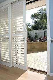 contemporary way to cover sliding glass