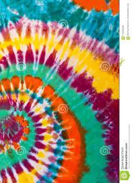 Tie Dye Swirl Design Colorful Tie Dye Swirl Spiral Design Pattern Stock Photo