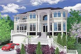 Front View Lot   MS   nd Floor Master Suite  Bonus Room    Plan MS ArchitecturalDesigns com