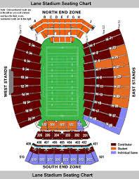Va Tech Lane Stadium Seating Chart 4 Virginia Tech Vs William Mary Football Tickets Aisle