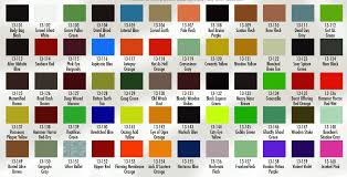President Paint Color Chart Lionel Paint Color Chart Best Picture Of Chart Anyimage Org